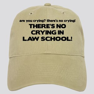 There's No Crying Law School Cap