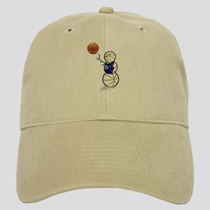 Basketball Snowman Cap
