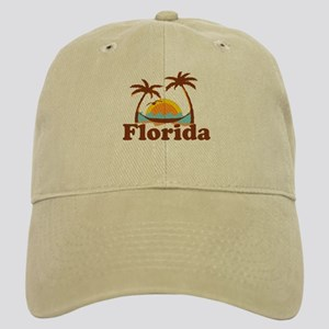 Florida - Palm Trees Design. Cap