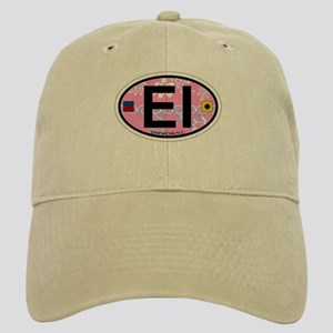 Emerald Isle NC - Oval Design Cap