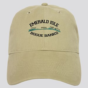 Emerald Isle NC - Map Design Cap