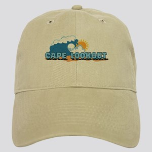 Cape Lookout NC - Waves Design Cap