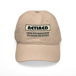 091e16014 Funny Retirement Gift, Retired, Under New Mana Cap