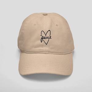 Peace Heart Cap