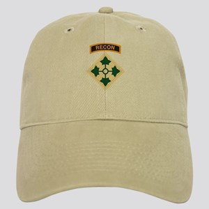 4th Infantry Div with Recon T Cap