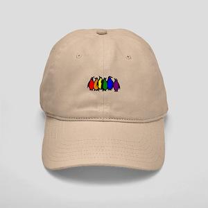 Rainbow Penguins Cap
