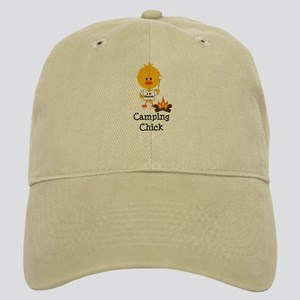 Camping Chick Cap