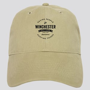 SUPERNATURAL Winchester Bros black Cap