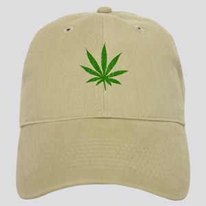 Marijuana Leaf Cap