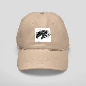 Horse Head Art Cap
