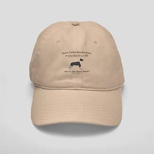 Boston Terrier Pawprints Cap