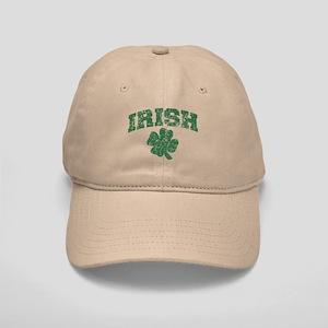 Worn Irish Shamrock Cap