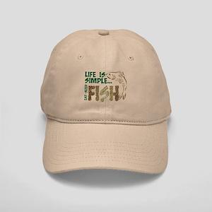 Life Is Simple...FISH Cap