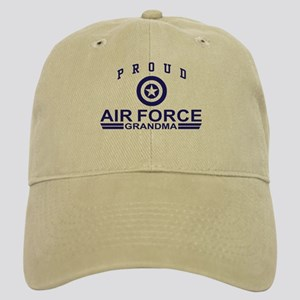 Proud Air Force Grandma Cap