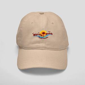 Myrtle Beach SC - Waves Design Cap