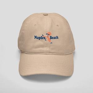 Naples Beach - Map Design. Cap