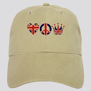 Heart, Peace, Crown - Britiain! Cap