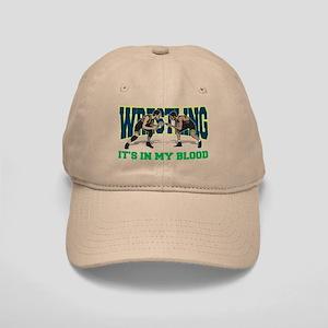 Wrestling It's In My Blood Cap