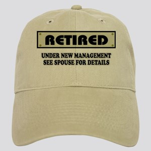 Funny Retirement Gift, Retired, Under New Mana Cap