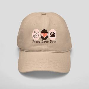 Peace Love Dogs Cap