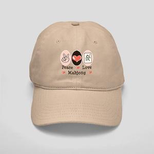 Peace Love Mahjong Cap