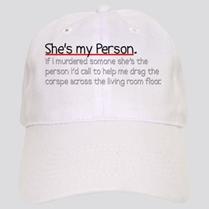My Person Journal Cap
