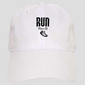 run hebrews Cap
