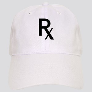 Pharmacy Rx Symbol Baseball Cap