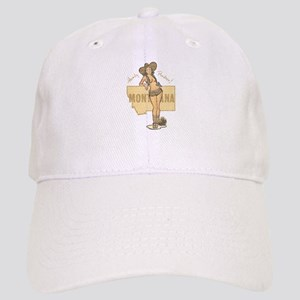 Faded Montana Pinup Baseball Cap