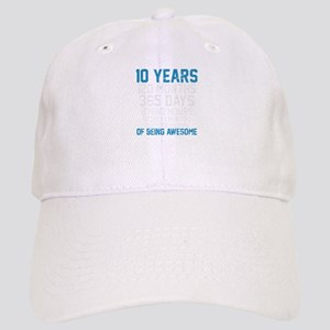 Birthday Shirt For Son and Daughter 10 Years O Cap