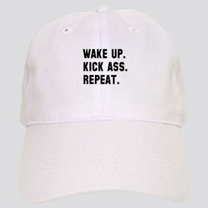 Wake up kick ass repeat Cap