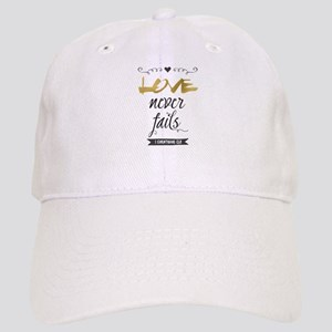 Love Never Fails Cap