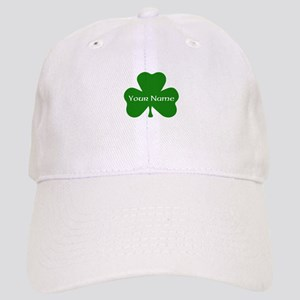 CUSTOM Shamrock with Your Name Baseball Cap