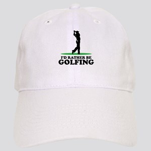 I'd Rather Be Golfing Cap