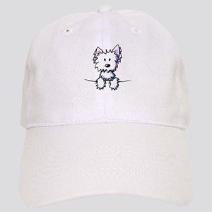 Pocket Westie Caricature Cap