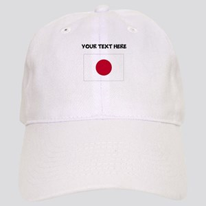 Custom Japan Flag Baseball Cap