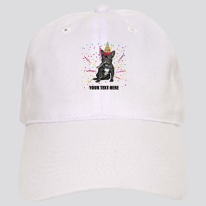 Custom French Bulldog Birthday Cap