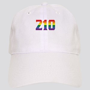 Gay Pride 210 San Antonio Area Code Baseball Cap