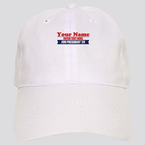 For President 20 Personalized Cap