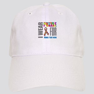 Autism Awareness Ribbon Customized Cap