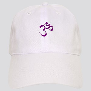 The Purple Aum/Om Cap