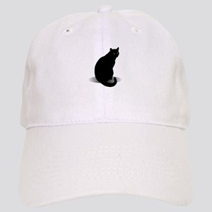 Basic Black Cat Cap