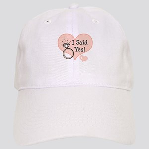 I Said Yes Bride To Be Cap