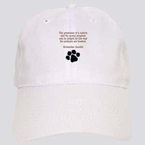 Gandhi Animal Quote Cap