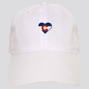 Colorado Flag Heart Cap