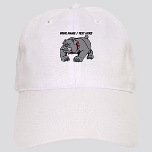 Custom Angry Bulldog Baseball Cap