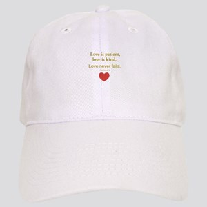 Love is Patient, Love is Kind Baseball Cap