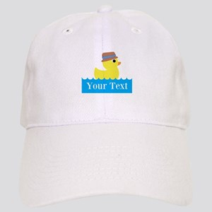 Personalizable Rubber Duck Baseball Cap