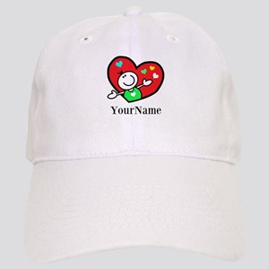 Happy Heart (p) Baseball Cap