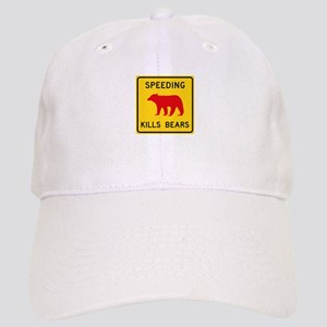 Speeding Kills Bear, California (US) Cap